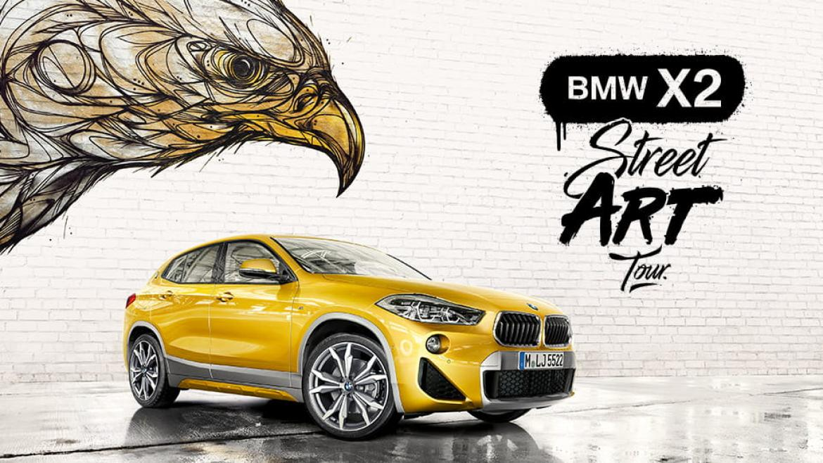 BMW X2 Art Tour